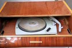 Retro DRYSTAL-TONE bútor lemezjátszó