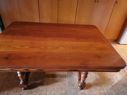 150x110 cm masszív tömörfa asztal