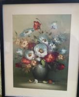 Váza virágokkal - festmény