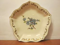 Anita porcelán kék virágos tál