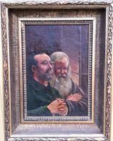 Bartholomeidesz Károly – Szerzetesek imája című festménye – 114.