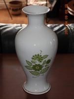 Hollóházi (Erika) porcelán váza, virágtartó
