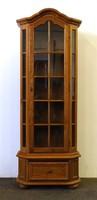 1D875 Üveges stílbútor nagyméretű vitrin 198 cm