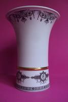 """Hollóházi nagy méretű """"Korinthosz"""" váza"""