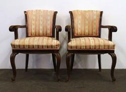 1D868 Antik neobarokk karfás szék pár