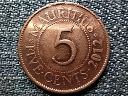 Mauritius Seewoosagur Ramgoolam 5 cent 2012 (id42339)