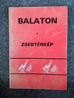 Balaton zsebtèrkép 1986-87