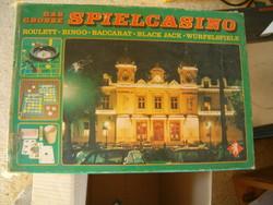 Der grose spielcasino roulette bingo baccarat black jack würfelspiele társasjátél retró rulett stb