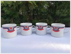 Retro Alföldi porcelán bögrék