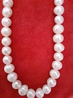 Édesvízi gyöngyből készült gyöngysor 45cm-es