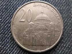 Szerbia Szent Száva templom 20 dínár 2003 (id28325)