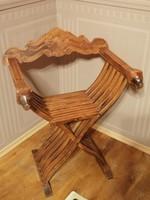 Savonarola székek eladók, együtt a 2 db