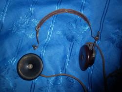 Antik remington detektoros rádió fejhallgató