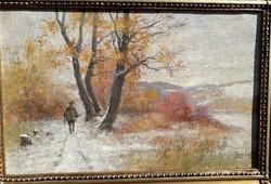 Zorkóczy Gyula -Téli vadászat