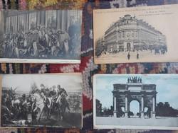 Francia képeslapok 1930-as évek 44 db!