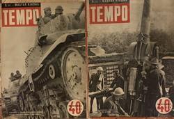 Tempol - magyar nyelvű!!! (1942 évfolyam - 5, 6 száma)