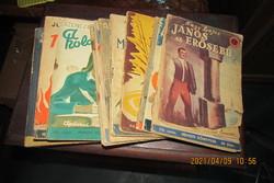 Nemzeti könyvtár 15 db füzete -világháborús