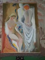 Komoly kvalitásos festmény eladó.