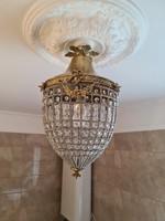 Empire fűzött kosaras mennyezeti lámpa-csillár