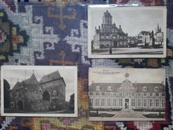 Régi képeslapok /Belgium, Hollandia 6db