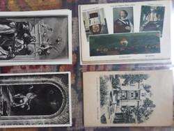 Régi magyarországi képeslapok 40 db!
