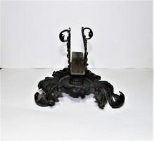 Antik asztali gyufatartó
