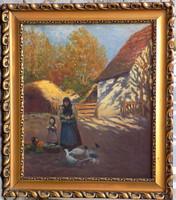 Ismeretlen Szlovák festő a 20-ik század elejéről