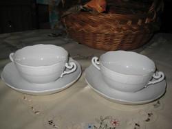 Herendi leveses csészék    2 db.  csésze 110 x 60 mm  alj  718. számú