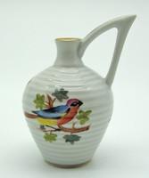 B469 Herendi madár mintás korsó kancsó   - gyönyörű hibátlan darab
