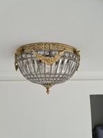 Fűzött empire kosaras mennyezeti lámpa