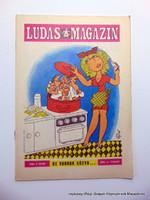 1980 április  /  LUDAS MAGAZIN  /  Eredeti ÚJSÁG! SZÜLETÉSNAPRA! Ssz.:  15991