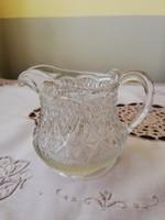 Antik üveg kiöntő