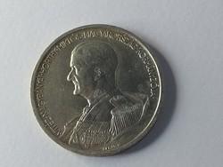Horthy ezüst 5 pengő 1939