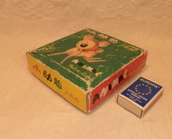 Régi játék, kirakós kocka