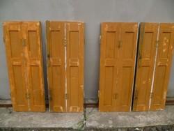 Spaletta / Ablak / Árnyékoló/ 4 db  108 cm x 40 cm.