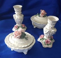 ENS, és VOLKSTEDT német porcelánok
