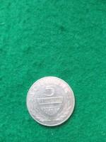 Ezüst  5 schilling  1966