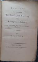 EINIGES ÜBER MUSICALISCHEN AUSDRUCK UND VORTRAG FÜR FORTEPIANO - SPIELER   1823     NAGYON RITKA !
