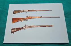 Vadászpuskák -  Országos Hadtörténeti Múzeum Budapest fotó