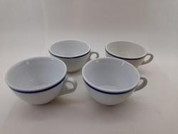 Zsolnay kávés csésze 4 db egyben