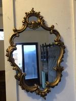 Aranyozott Bécsibarokk,barokk tükör
