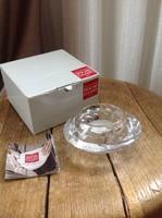 Dán Holme Gaard kristály üveg mécsestartó dobozában, új doboza sérült
