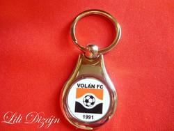 VOLÁN FC FÉM KULCSTARTÓ