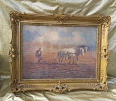 Cserna Károly csodálatos, antik festménye.