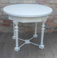 Provence kerek dohányzóasztal, dohányzó asztal