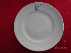 """Drasche porcelán kistányér, """"K pincér""""  jelzéssel, átmérője 20 cm."""