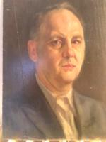 Rettentően jól meg festett férfi portré .