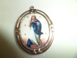 Mária medál / arany lemezelt