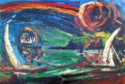 Somogyi István olaj festménye