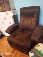 Masszív relax masszázs fotel